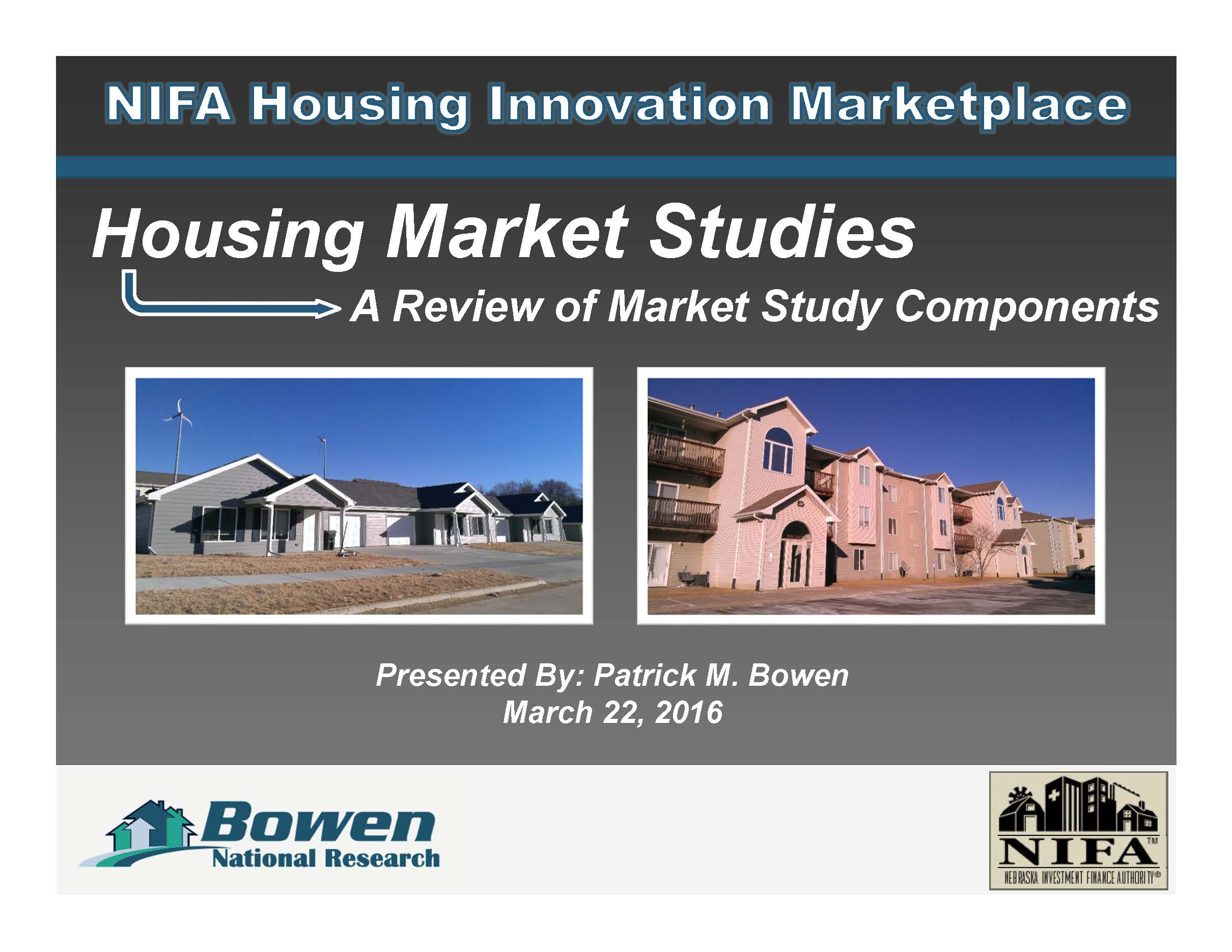 NIFA Housing Innovation Marketplace