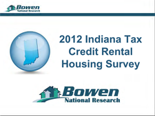 Indiana Statewide Tax Credit Rental Housing Survey Presentation